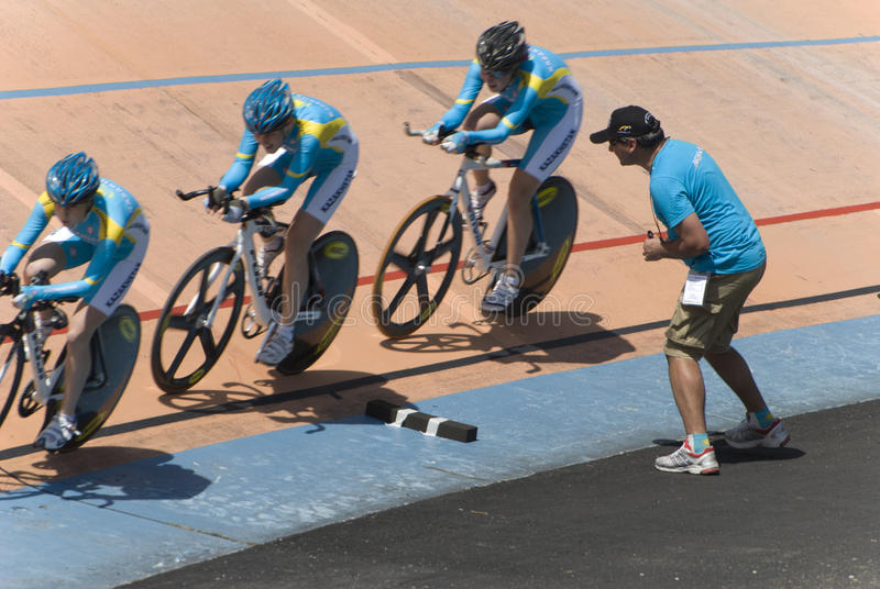 Download Asian Cycling Championships 2012, Kazakhstan Team Editorial Stock Photo - Image: 23371023