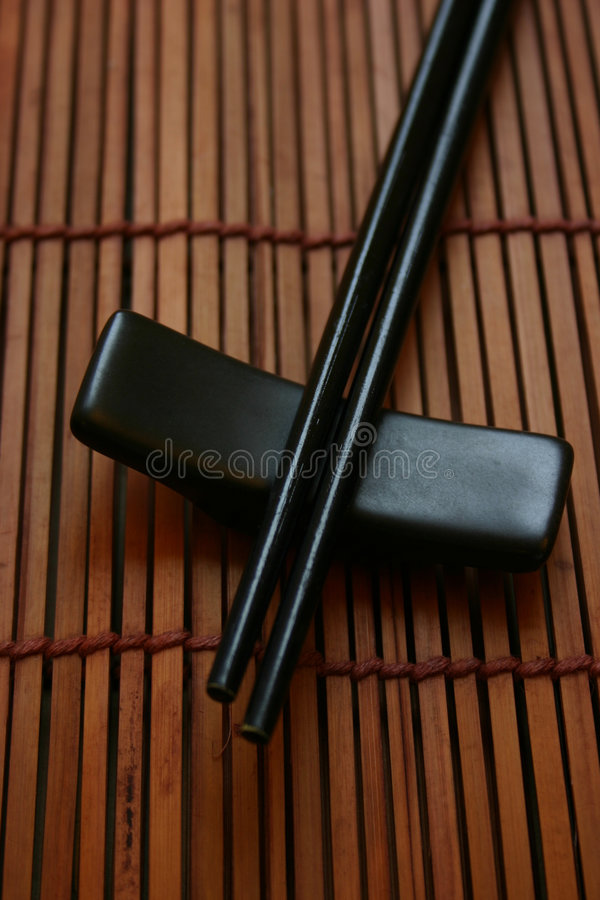 Free Asian Dining Set - Chopsticks And The Holder Royalty Free Stock Images - 463029
