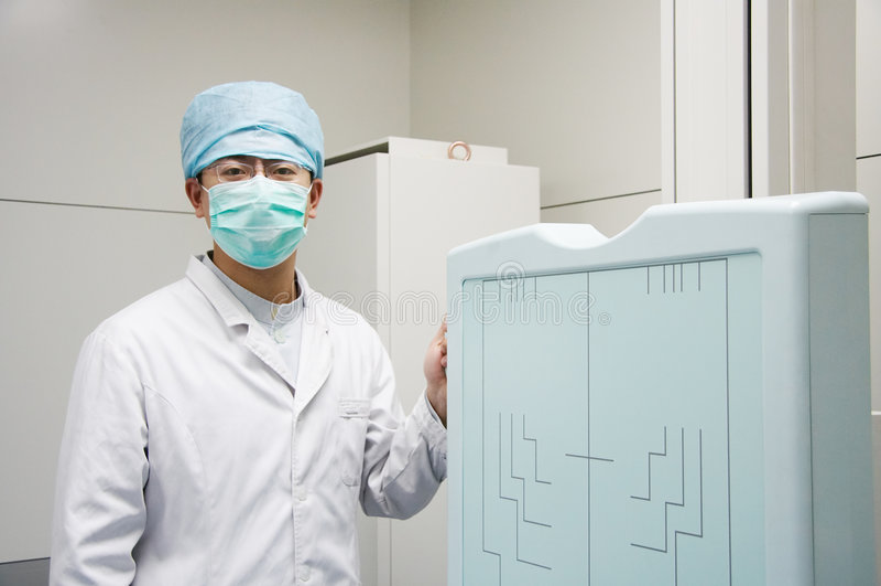 Asian doctor royalty free stock photos