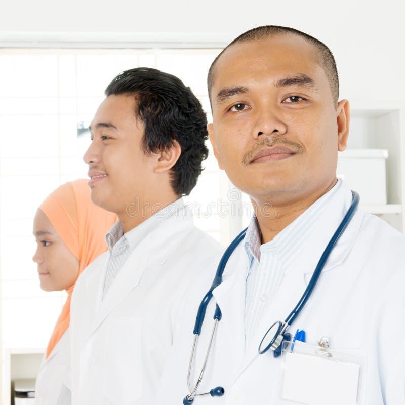Asian doctors portrait stock photography