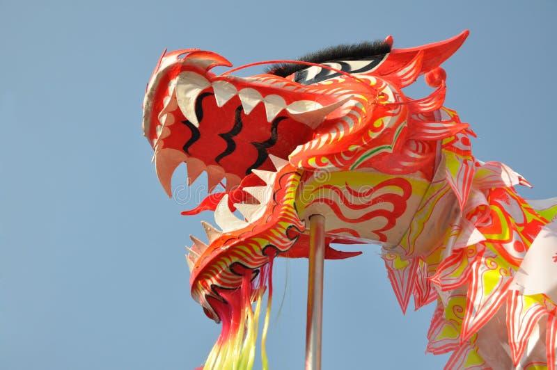 Asian dragon dance royalty free stock photo