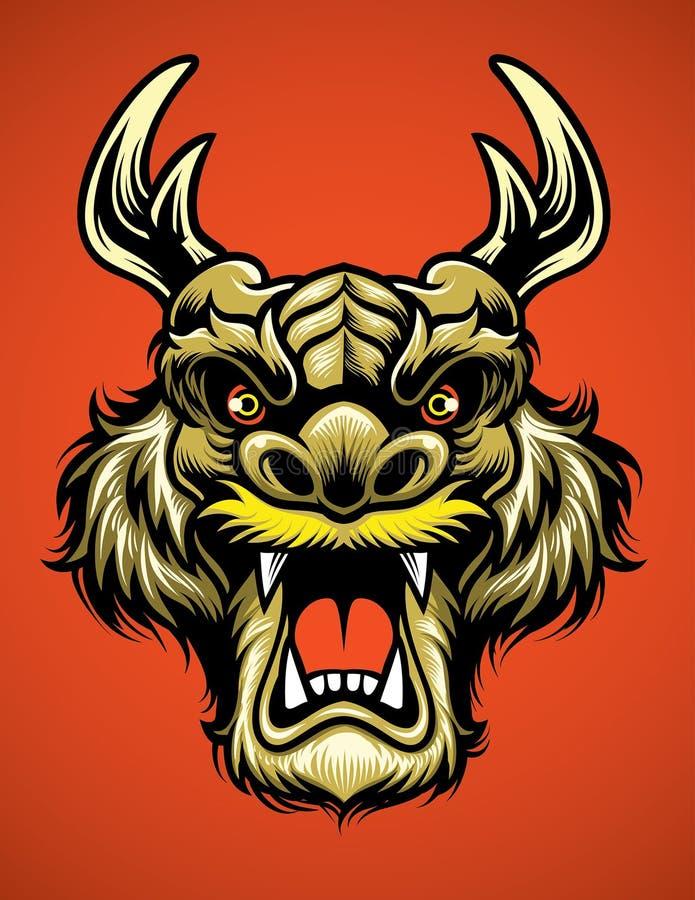 Free Asian Dragon Head Stock Photography - 72169622