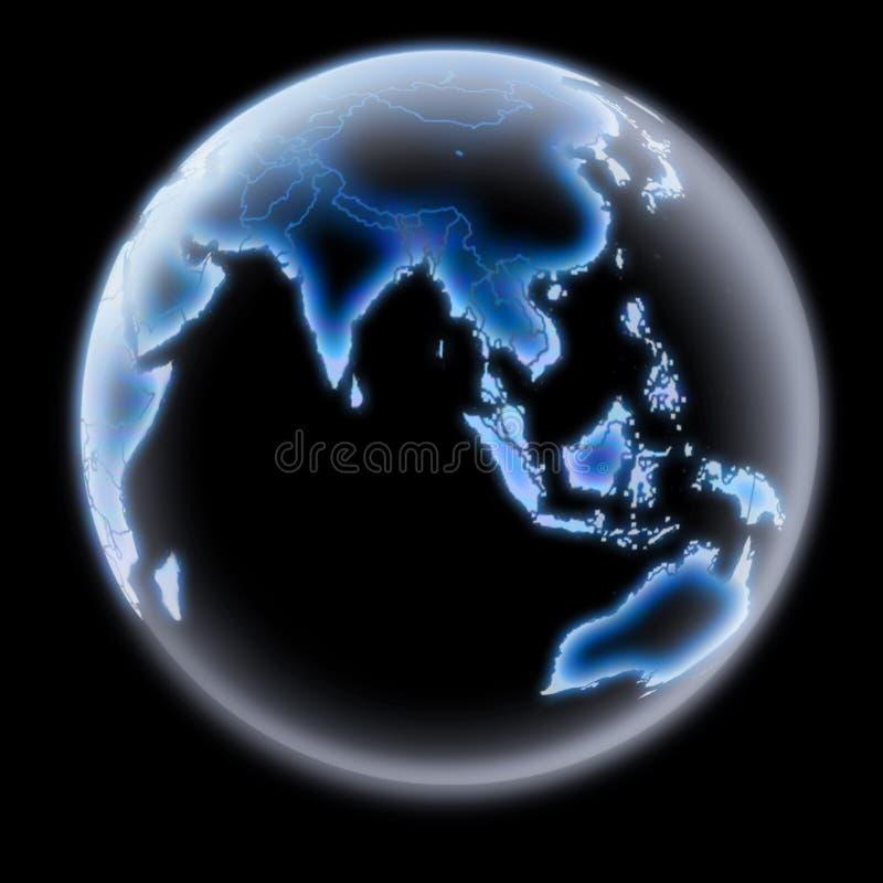 Asian Earth vector illustration
