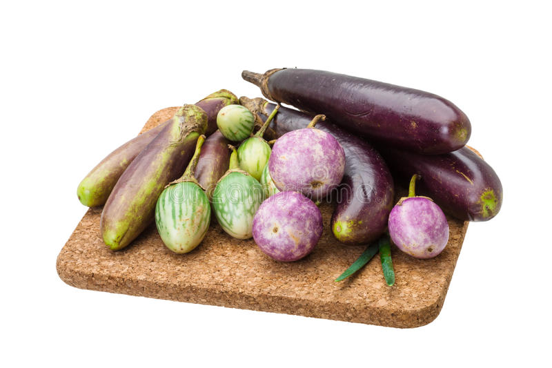 Download Asian egg-plant assortie stock photo. Image of fruit - 39504616