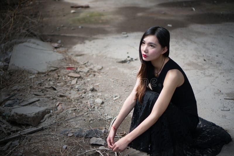 Asian Eyes stock photo