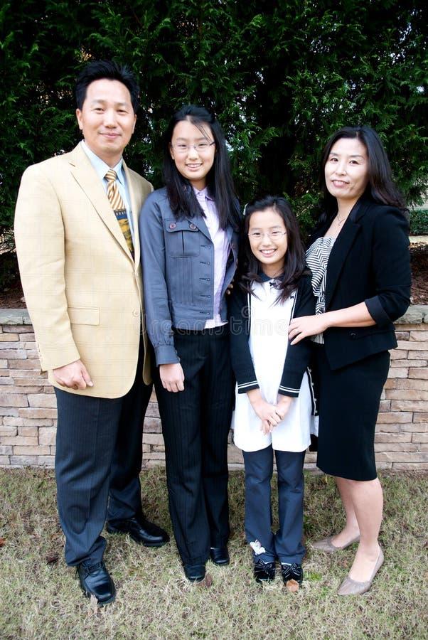 Free Asian Family Royalty Free Stock Image - 12419866
