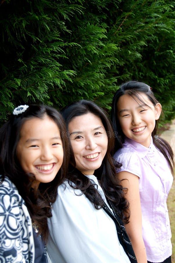 Free Asian Family Stock Photography - 12419932