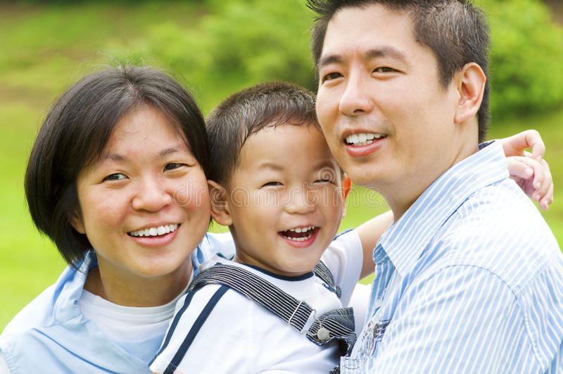Download Asian famlily stock image. Image of black, people, cute - 19058391