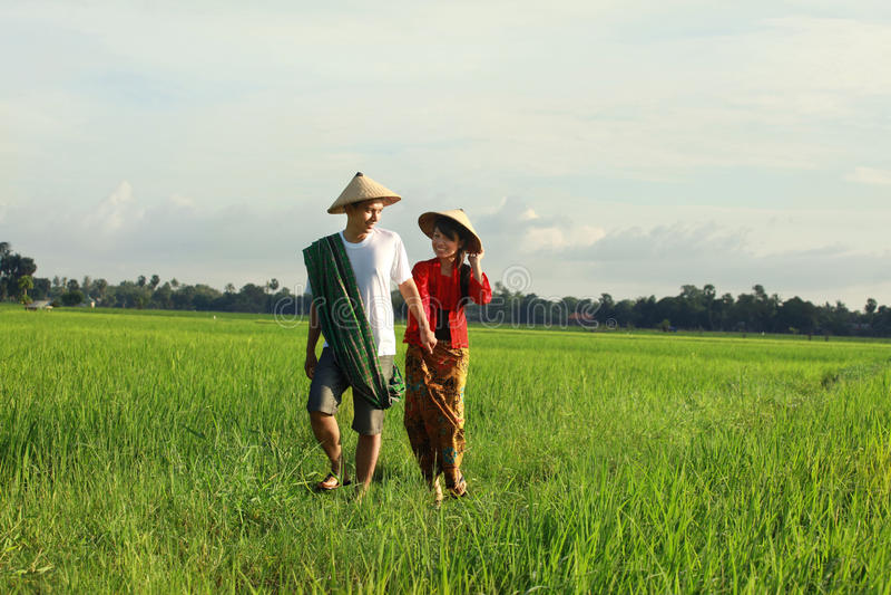Download Asian farmer stock image. Image of smile, boyfriend, asian - 13464691