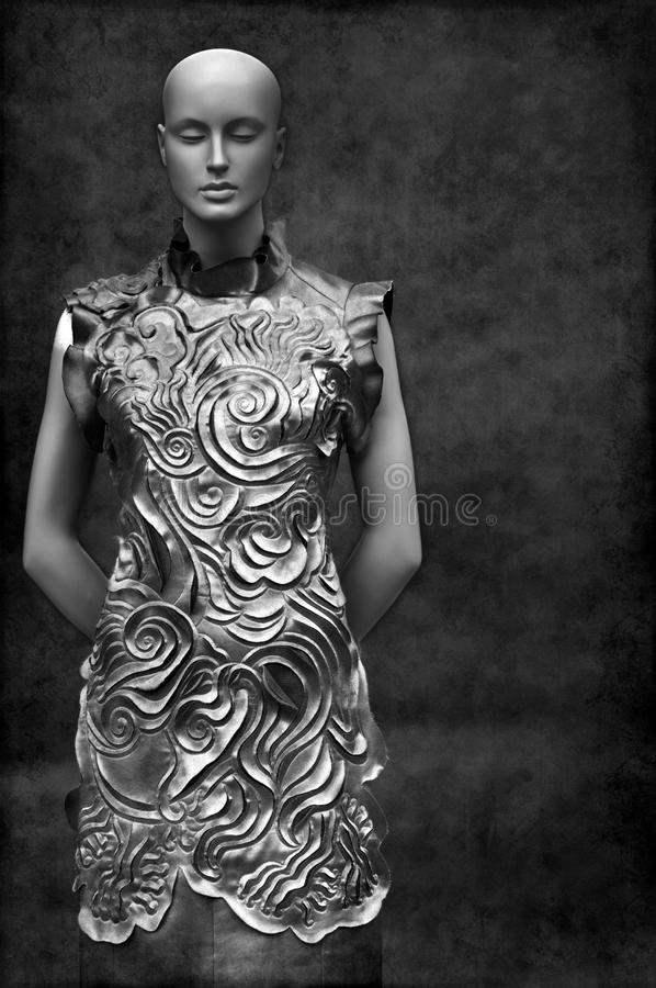 Download Asian Fashion Dress On Mannequin Stock Image - Image: 18065565
