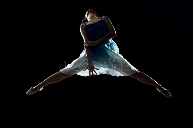 Asian female ballet dancer royalty free stock photo