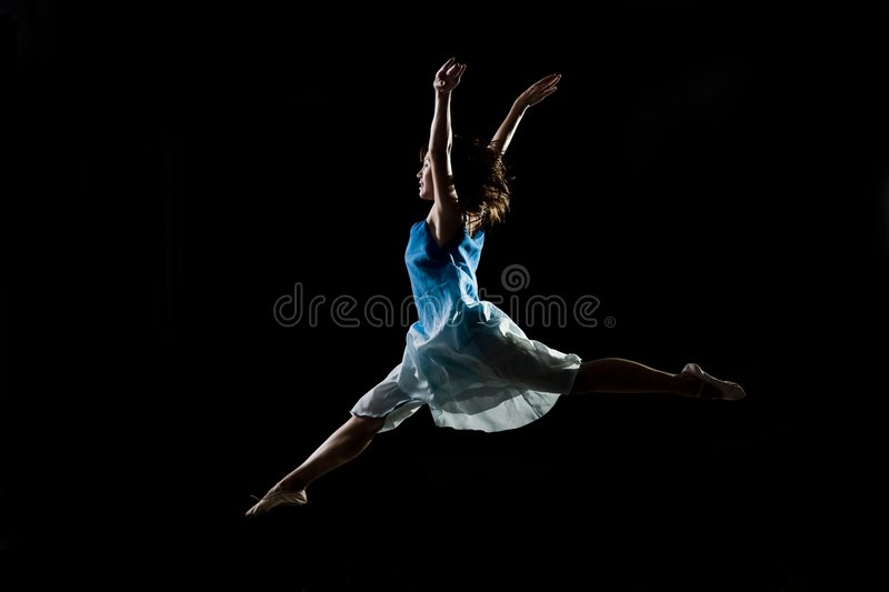 Asian female ballet dancer royalty free stock images