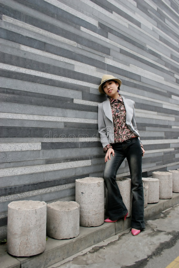 Free Asian Female Portrait Royalty Free Stock Photos - 662338