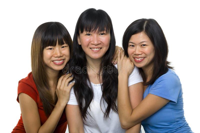 Asian women portrait royalty free stock photo
