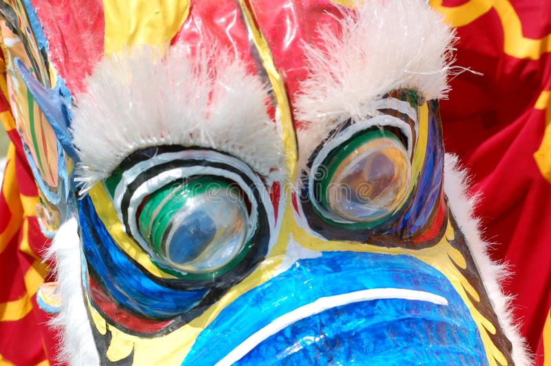 Asian Festival Mask in Tulsa stock image