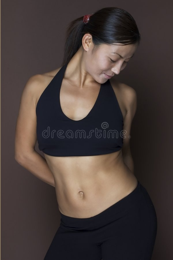 Free Asian Fitness Model Stock Images - 90004