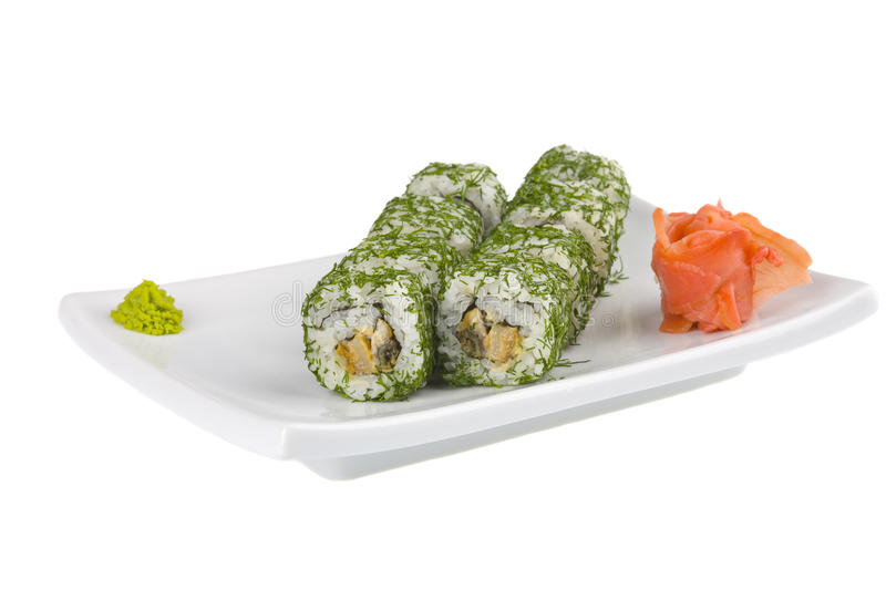 Download Asian food stock photo. Image of rice, rolled, fish, meal - 19002702