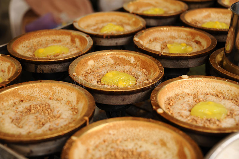 Asian food. With bah cai kuih cakes stock images