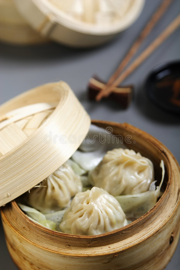 Asian food. Served on table stock images