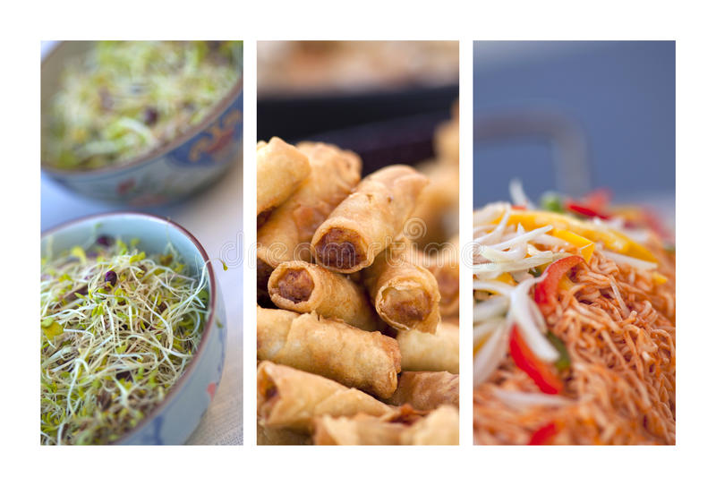 Download Asian food stock photo. Image of beansprouts, onions - 23875680