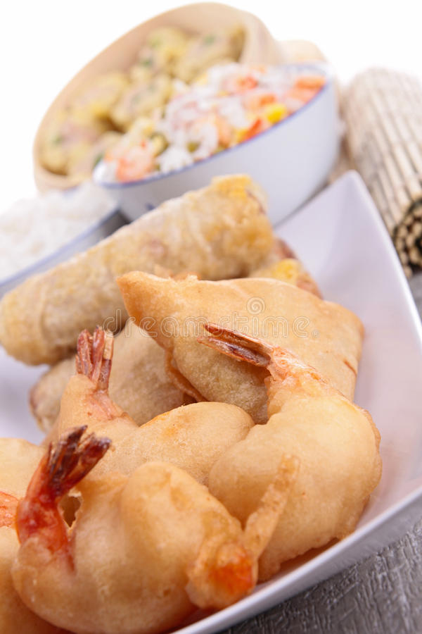 Download Asian food stock photo. Image of roll, appetizer, gastronomy - 28662948