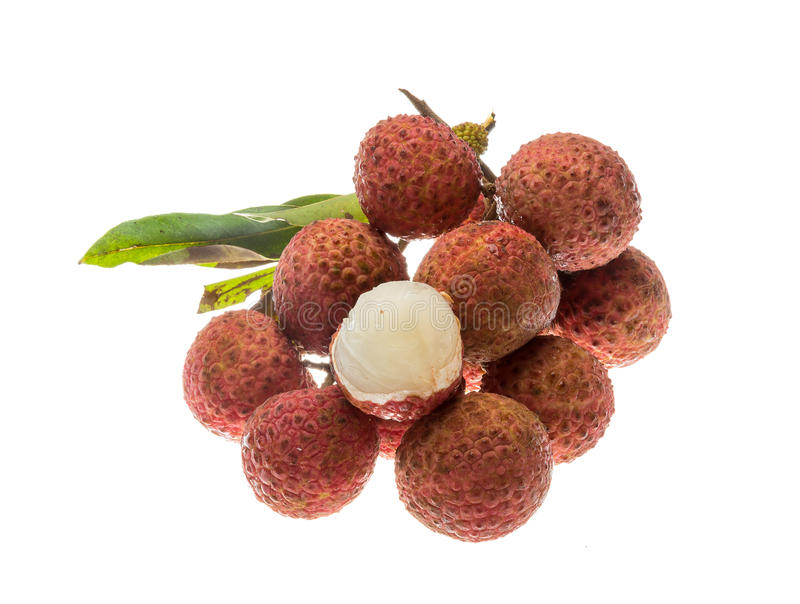 Asian fruit lychee royalty free stock photography