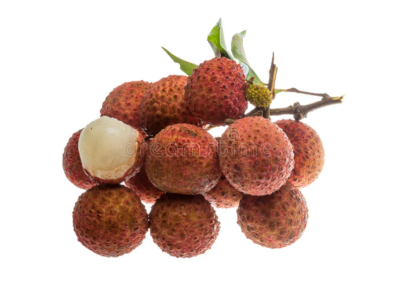 Asian fruit lychee stock images