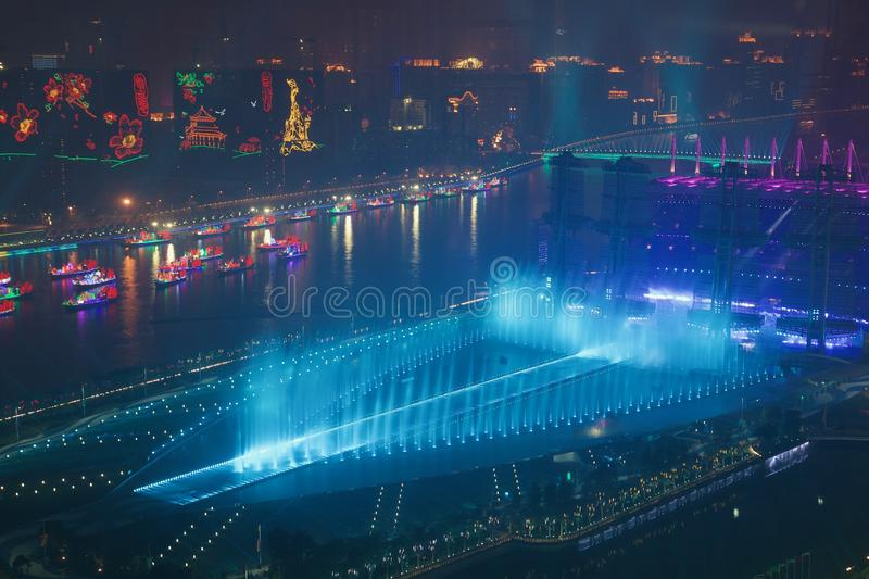 The Asian Games 2010 Guangzhou China royalty free stock images