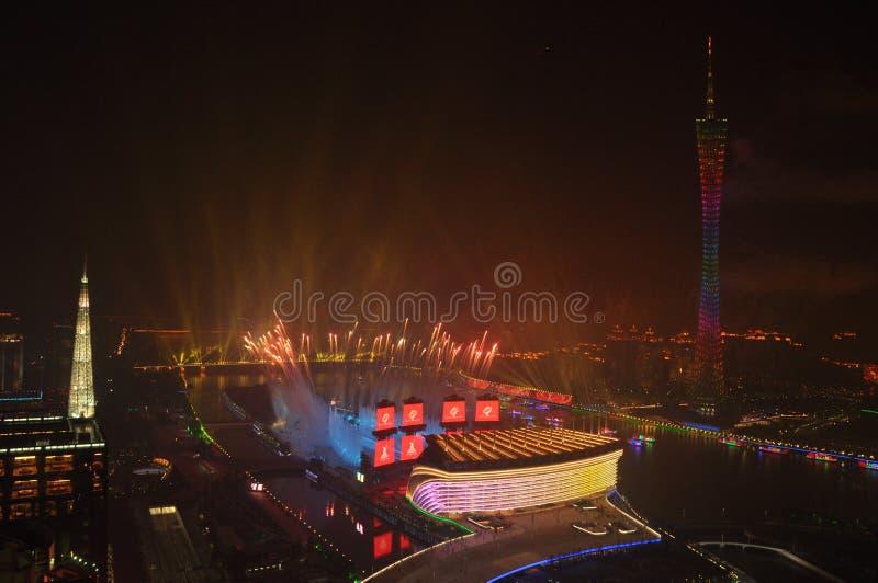 The Asian Games 2010 Guangzhou China stock images