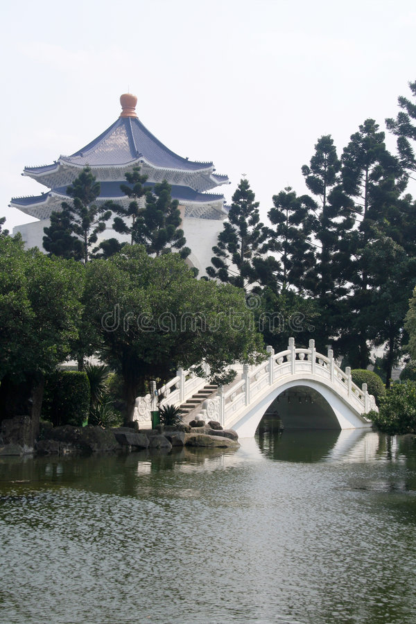 Asian garden royalty free stock photos