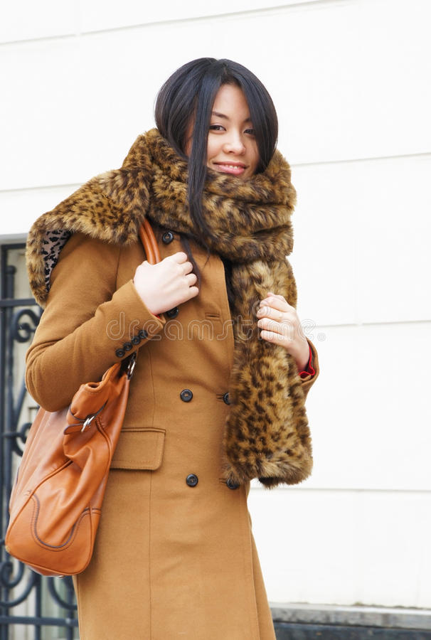 Download Asian girl stock image. Image of expressive, elegance - 18834005