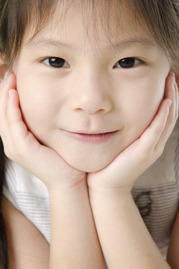 Asian girl royalty free stock photo