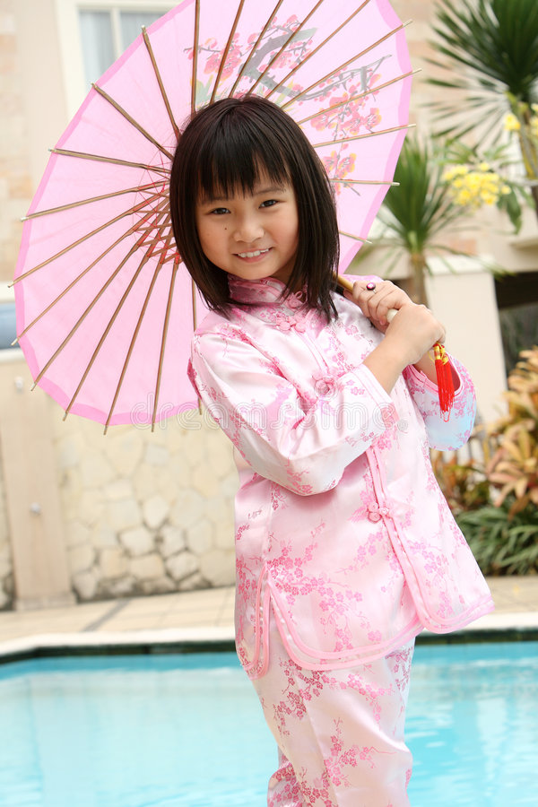 Download Asian Girl stock photo. Image of dress, fashion, happiness - 7002008