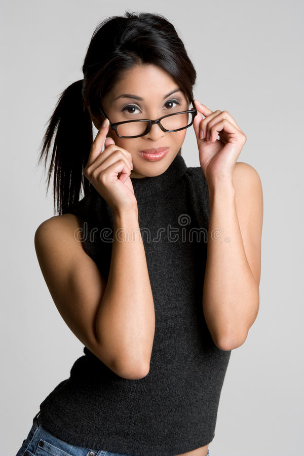 Asian Girl stock photo