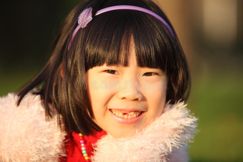 Download Asian girl in autumn stock image. Image of outdoor, person - 14721099