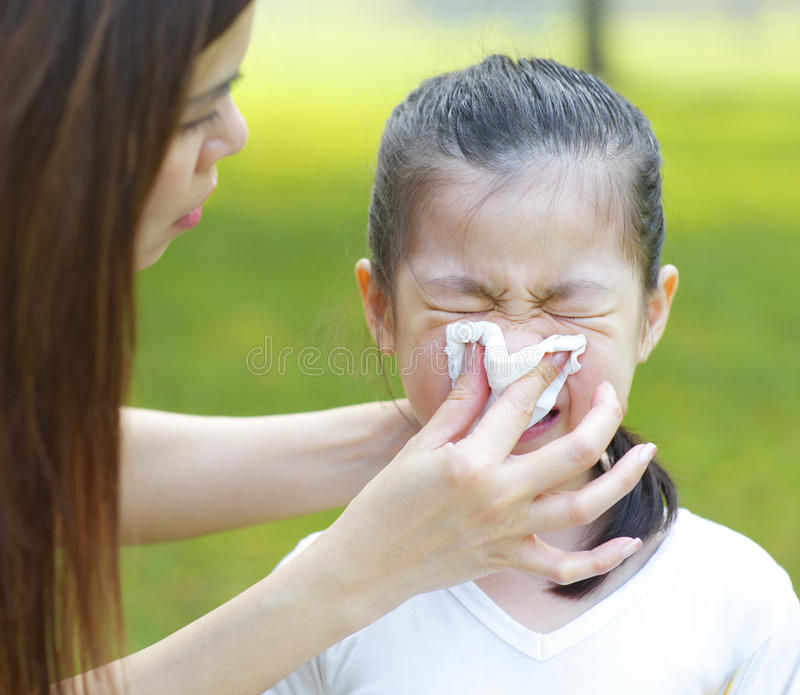 Download Asian Girl With The Flu Royalty Free Stock Image - Image: 26159646