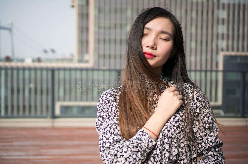 Asian Girl Love stock photos