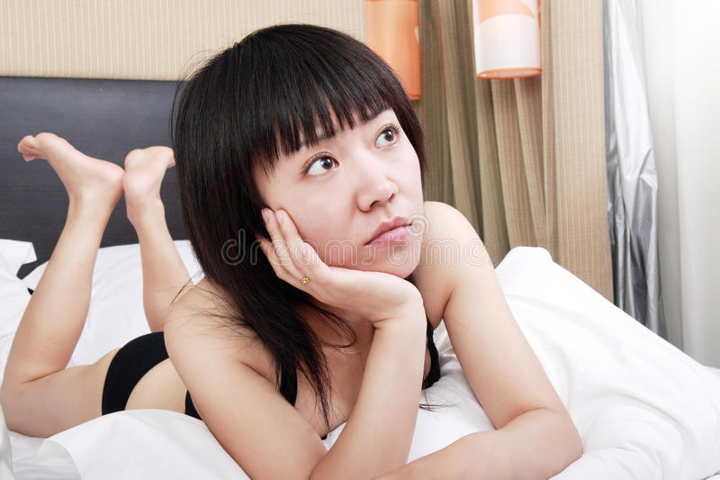 Download Asian girl in the morning stock image. Image of asian - 9813639