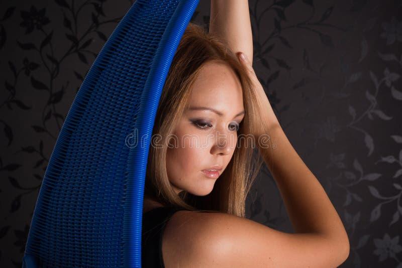 Asian girl portrait royalty free stock photos