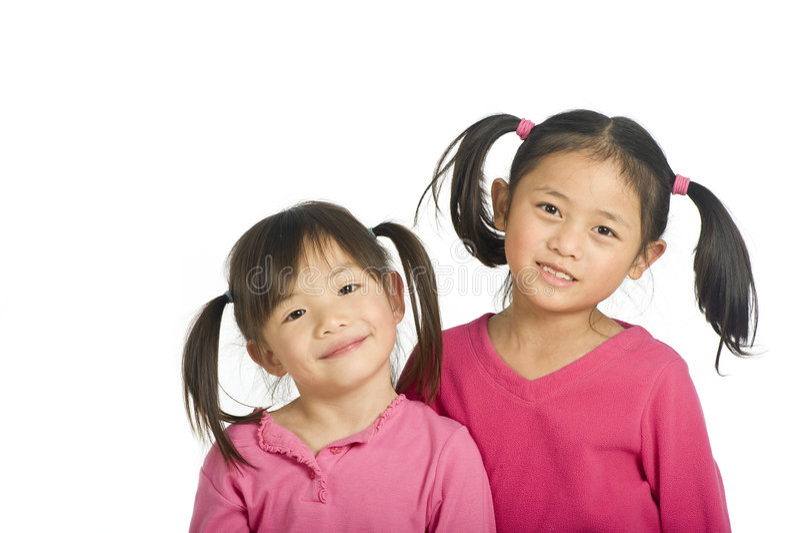 Asian Girls royalty free stock photos