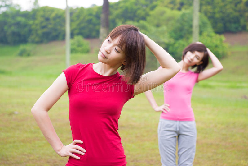 Download Asian Girls Workout Outdoor Royalty Free Stock Photo - Image: 36079895