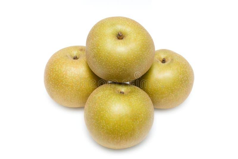Asian golden pear stock image