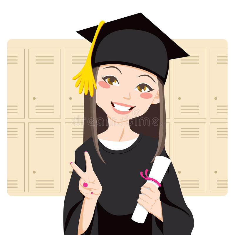 Download Asian Graduate stock vector. Illustration of academic - 19515201