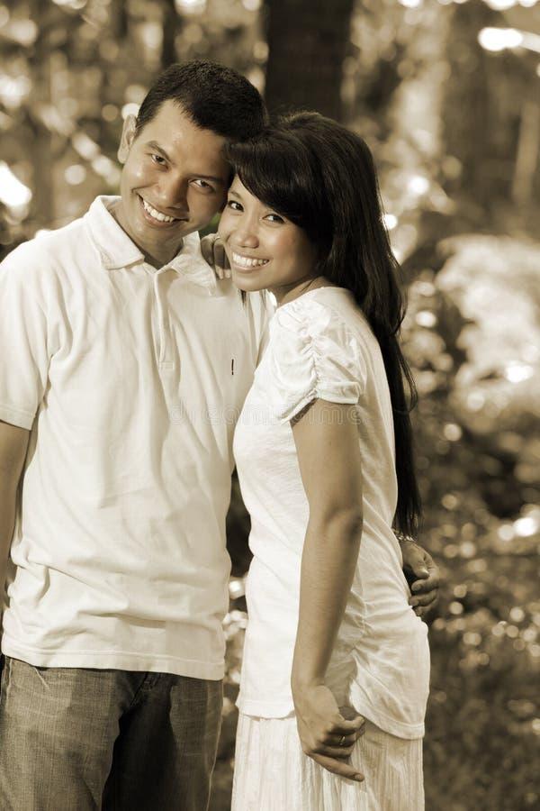 Asian Happy Couple Royalty Free Stock Photo