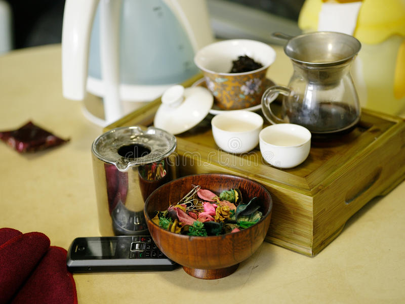Asian Herb Tea Royalty Free Stock Image