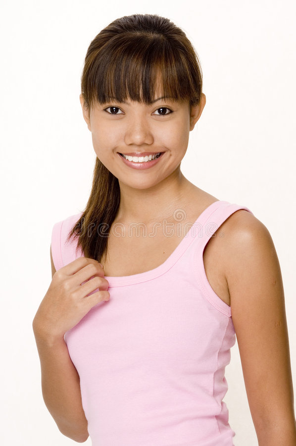 Free Asian In Pink 3 Stock Photography - 334882