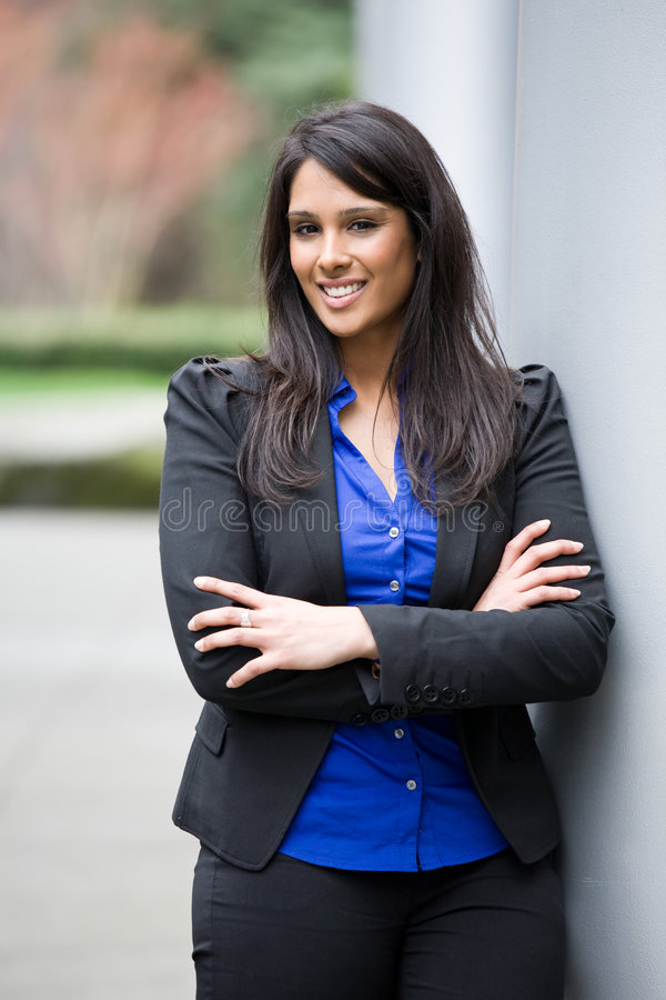 Asian Indian Businesswoman Royalty Free Stock Photo