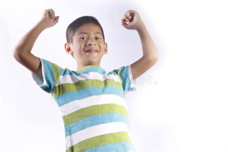 Asian kid playing stock photos