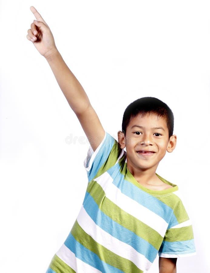 Free Asian Kid Playing Pointing Stock Image - 23736481