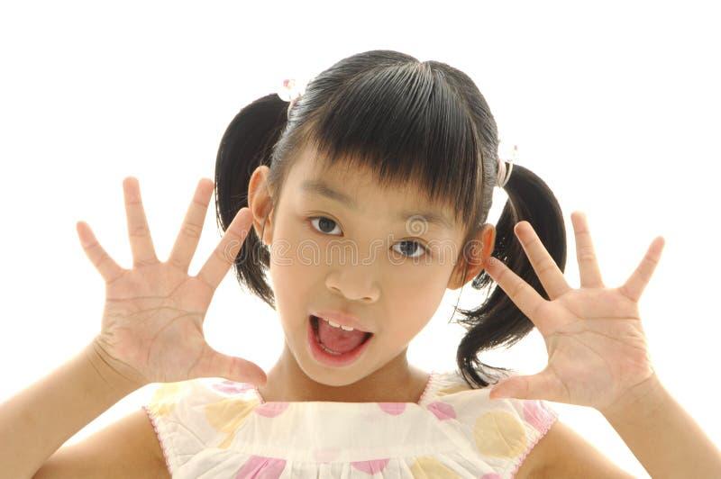 Asian kids royalty free stock photos